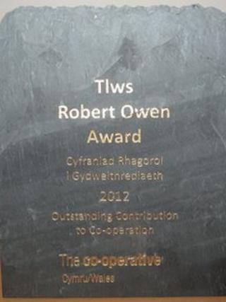 The Robert Owen Award