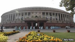 Delhi parliament building