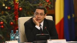 Victor Ponta chairs a cabinet meeting 10 Dec 2012