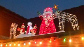 Jubilee Day Nursery Christmas lights
