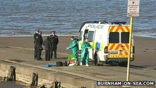 Body discovered on the beach at Burnham-on-Sea