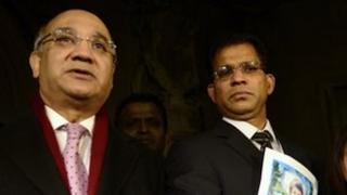 Keith Vaz MP and Benedict Barboza