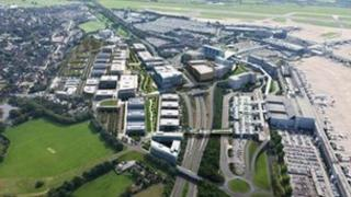How Airport City will look