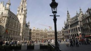 The Grand Place, Brussels (file image)
