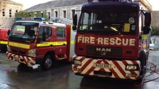 Mini and standard-sized fire appliances in Plymouth