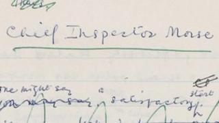Morse manuscript