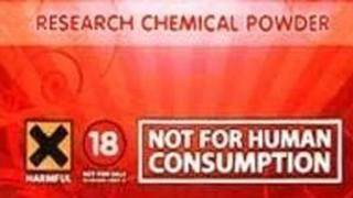 Legal high packaging