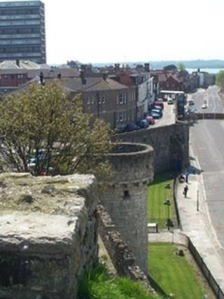 Southampton's city walls
