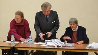 Sark Election 2012: Counting gets underway