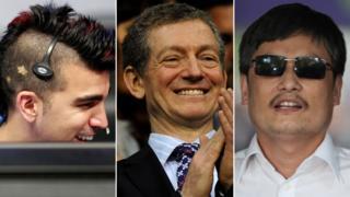 Bobak Ferdowsi, Cardiologist Dr Andrew Deaner, and Chen Guangcheng