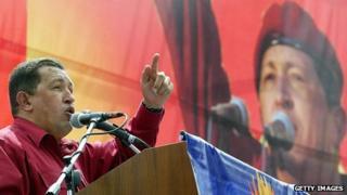 Hugo Chavez in 2004