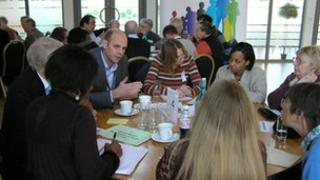 Berkshire NHS consultation meeting
