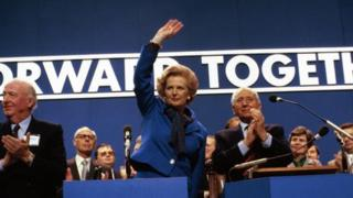 Conservative Party Conference at Brighton in 1980