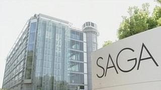 Saga Group headquarters in Folkestone, Kent