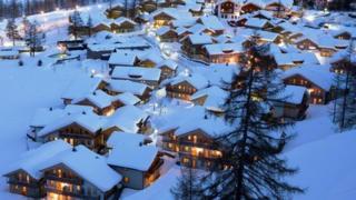 Pragelato ski village