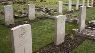 Twelve war graves at Trowbridge Cemetery have been renovated