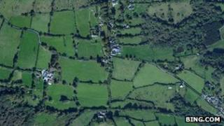 Aerial view of Manaton
