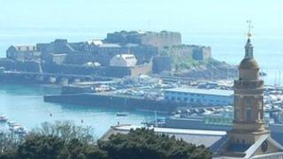 Castle Cornet in Guernsey