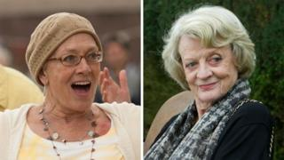 Vanessa Redgrave in Song for Marion and Maggie Smith in Quartet