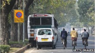 Bus in Delhi (file photo)