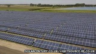 Chittering Solar Park, Cambridgeshire(solarcentury.co.uk and lightsource-re.co.uk)