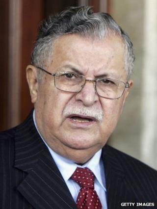 Jalal Talabani - archive photo
