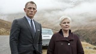 Daniel Craig and Dame Judi Dench in Skyfall