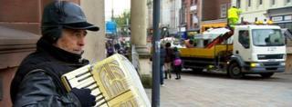 Wolverhampton accordionist