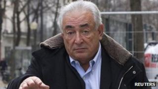 Dominique Strauss-Kahn in Paris. Photo: 10 December 2012