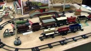With everything from train sets to doll's houses, puppets and planes to teddy bears on show, there is plenty on show.