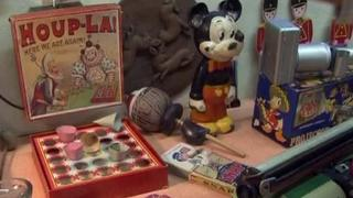 Many of the toys date back as far as 1860