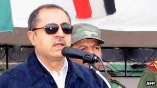 Syria's interior minister Mohammad Shaar (file image)