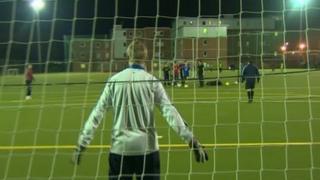 Llanfairpwll FC training session