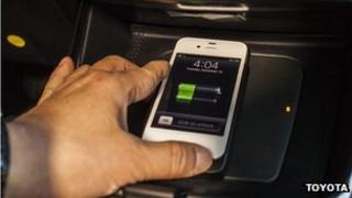 Toyota wireless charging