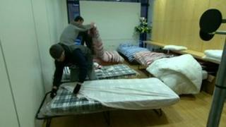Homeless hostel