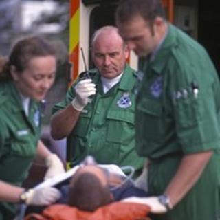 Ambulance service staff