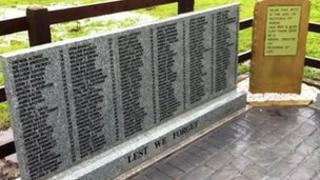 Pretoria Pit mine disaster memorial