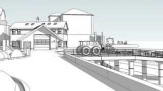 Plans for a new lifeboat station at Portishead