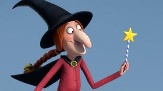 """Donaldson said the witch was based on her own """"scatty"""" character"""