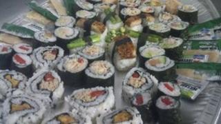 Jonathon Duncan's sushi