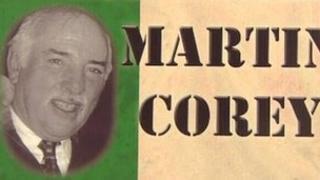 Martin Corey poster