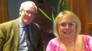 Patrick Minford and Kath Ringwald