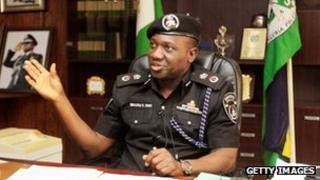 Kano police chief Ibrahim Idris