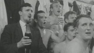 Song being sung in Coventry City dressing room