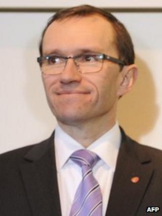 Norwegian Foreign Minister Epsen Eide
