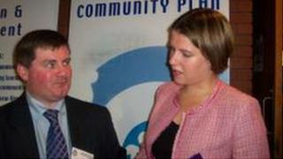 Mr Morrison with East Dunbartonshire MP Jo Swinson