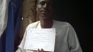 """""""Polio mobiliser"""" in north Nigeria"""