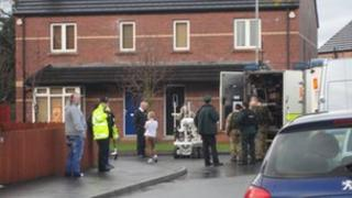 Scene of Lurgan security alert