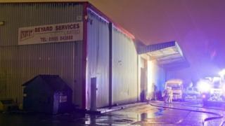 Paisley blaze warehouse
