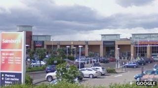 Sainsbury's within Meadowbank Retail Park